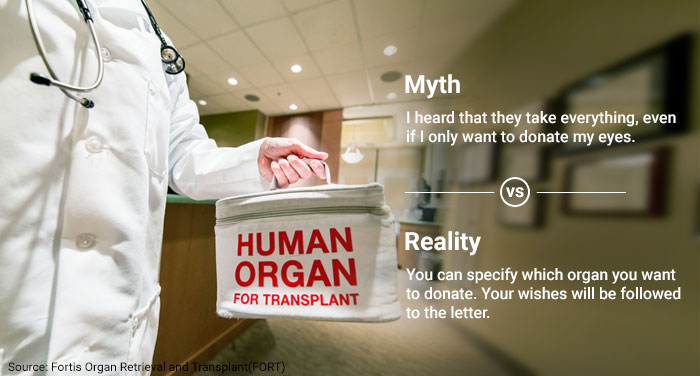 Organ Donation: Don\'t Let These Myths Confuse You