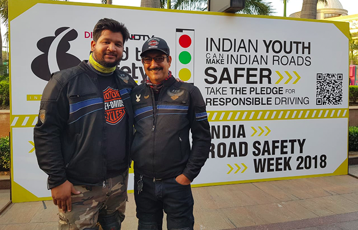 Road Safety Week: Over 100 Bikers Ride To Spread Awareness On Road Safety In Delhi