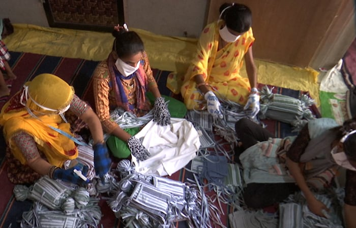 USHA Silai School Empowers The Women Affected By The Lockdown During COVID-19 Crisis