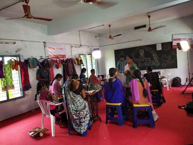 Photo : USHA Silai School Turns Savior For People Of Mori Village Of Andhra Pradesh