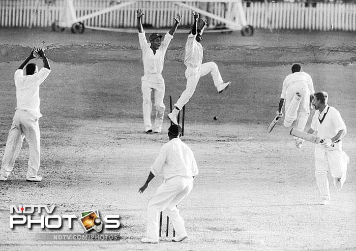 1960: West Indies tie with Australia