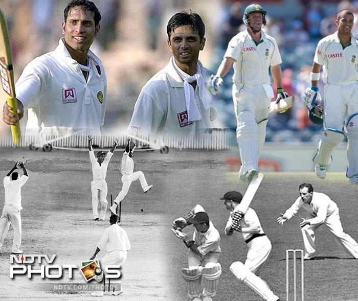 Ten greatest Test matches ever