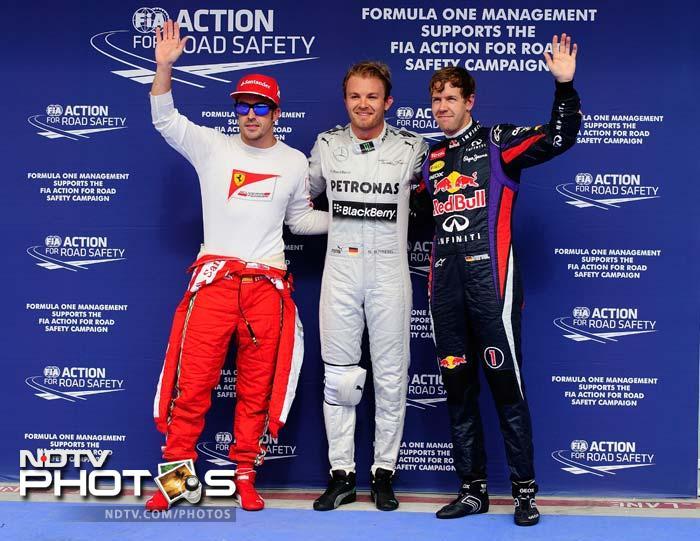 Nico Rosberg takes pole for Bahrain Grand Prix