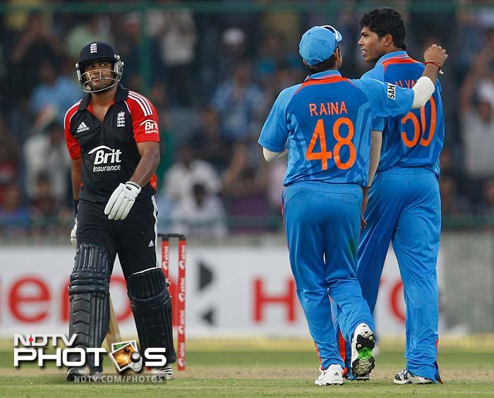 2nd ODI: India thrash England by 8 wickets