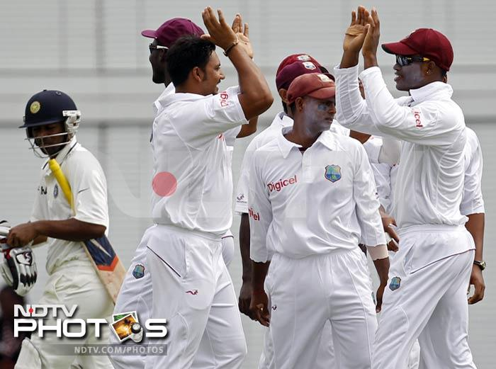 2nd Test: West Indies vs India, Day 1