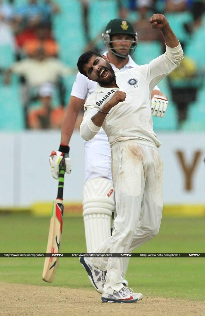 2nd Test, Day 3: Kallis, Jadeja shine at Kingsmead