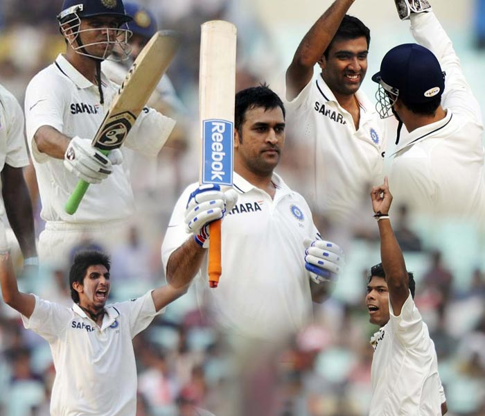The Very Very Special men who won India the 2nd Test