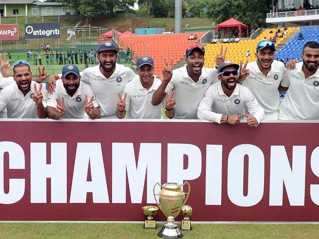 3rd Test: India Beat Sri Lanka By Innings And 171 Runs, Sweep Series 3-0