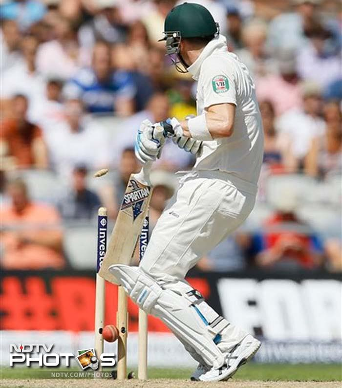 The Ashes, 3rd Test: Australia take honours on Day 2