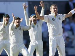 Photo : The Ashes, 3rd Test: Australia take honours on Day 2
