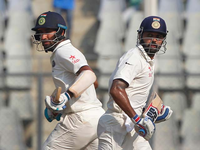 4th Test: Murali Vijay, Cheteshwar Pujara Lead India