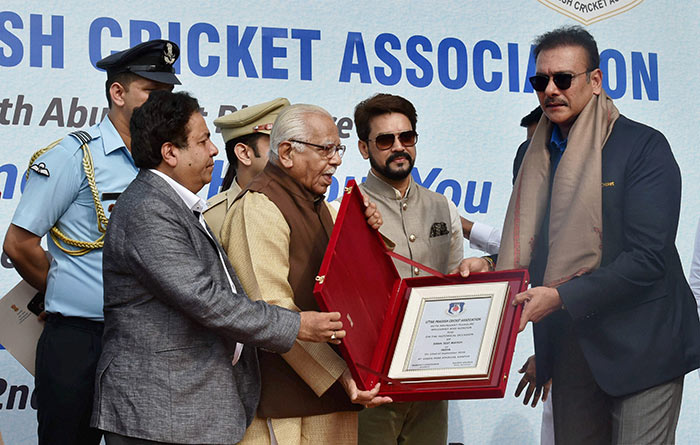 Greats Felicitated By BCCI Ahead of India