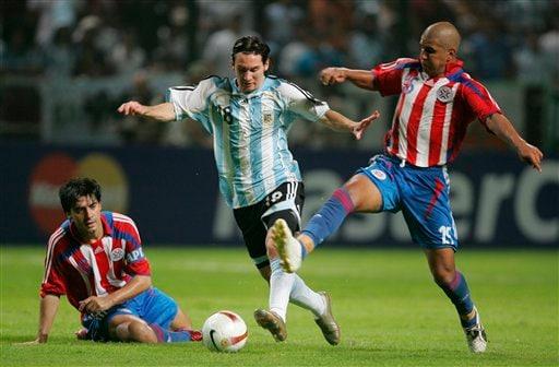 Argentina V Paraguay
