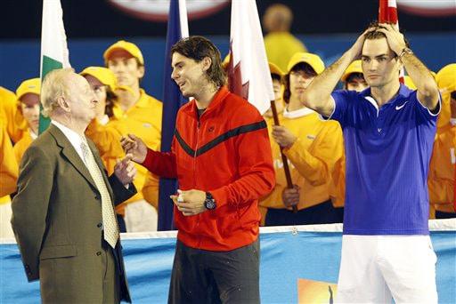 Nadal outshines Federer to win Australian Open
