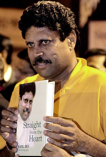 'Straight from the heart' by Kapil Dev