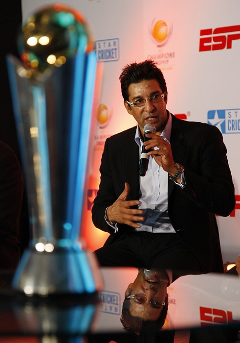 Champions Trophy unveiled in New Delhi
