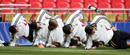 Germany ready for England