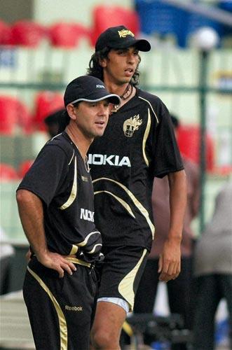 Kolkata Knight Riders at nets