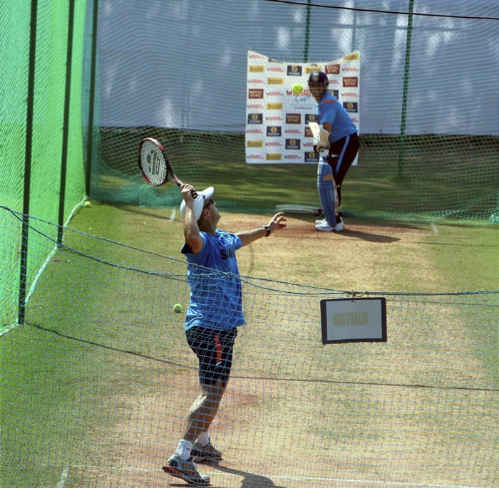 Team India prepares for 1st ODI