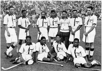 India's eight golds in Olympic hockey