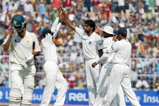 2nd Test, Ind vs Pak - Day 3
