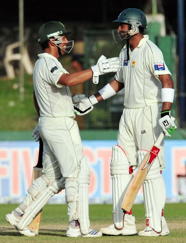 Pak vs SL: 3rd Test, Day 3