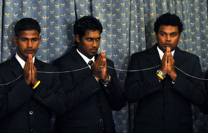 Sri Lankan team leaves for CT