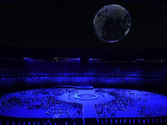 Photo : Tokyo Olympics: Opening Ceremony Takes Place In Near-Empty Stadium