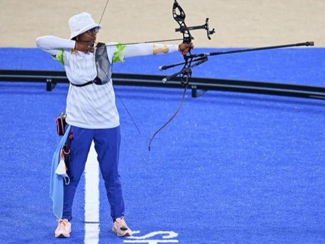 Photo : टोक्यो ओलंपिक 2020 : भारत की दीपिका कुमारी, पीवी सिंधु, पूजा रानी ने बिखेरी चमक