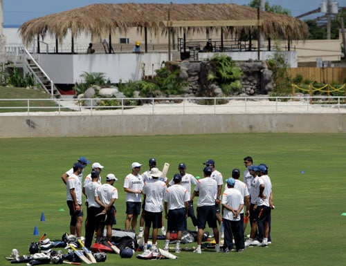 WI tour: India in nets