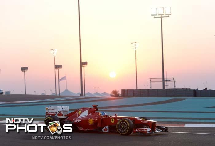 Abu Dhabi Grand Prix: Raceday