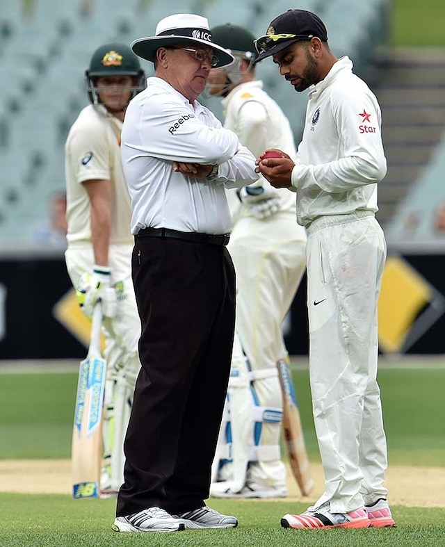 1st Test, Day 2: Clarke, Smith Tons Torment India on Rainy Day