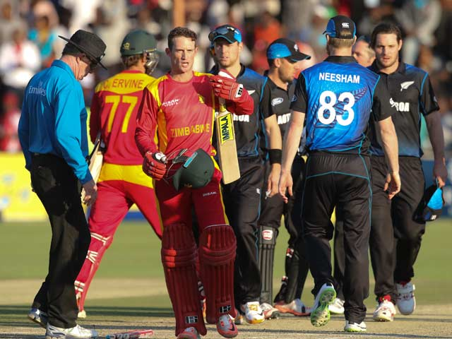 Zimbabwe Stun New Zealand by 7 Wickets in 1st ODI