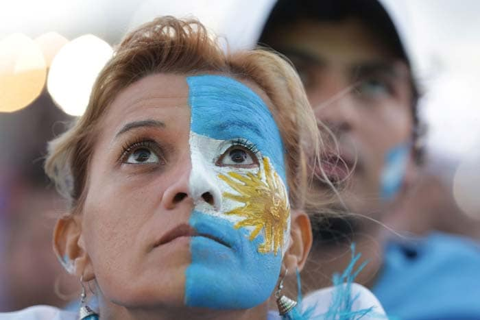 FIFA World Cup: Fans Mourn Argentina