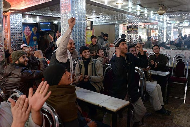 Party in Afghanistan as Cricket Team Wins 1st World Cup Match