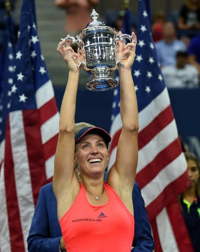 Angelique Kerber Lifts Maiden US Open Crown