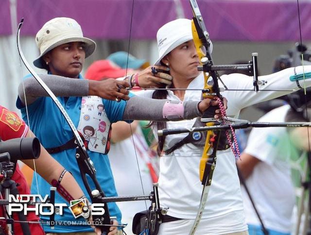 Olympics 2012: Archery ranking rounds