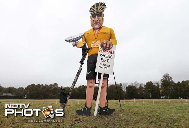 Now, Lance Armstrongs effigy to be burnt