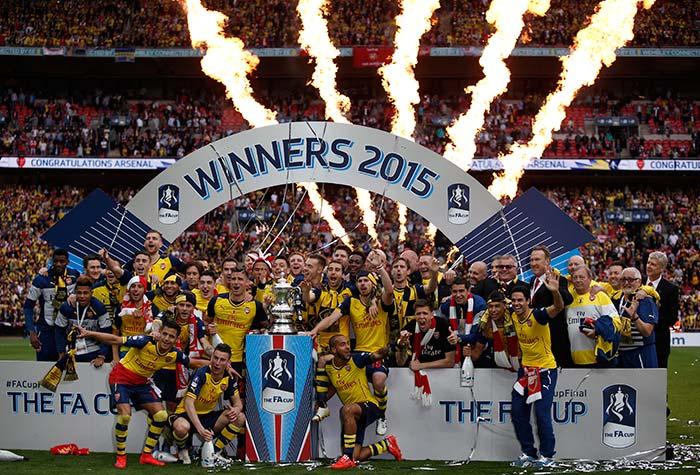 Arsenal Defeat Aston Villa to Win FA Cup