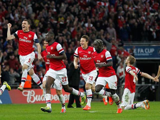 Arsenal reach FA Cup final for first time in nine years