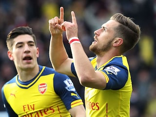 EPL: Aaron Ramseys Strike Keeps Arsenal in Title Race, Aston Villa Sink Tottenham Hotspur