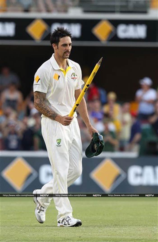 Ashes: Mitchell Johnson takes Australia to 381-run victory