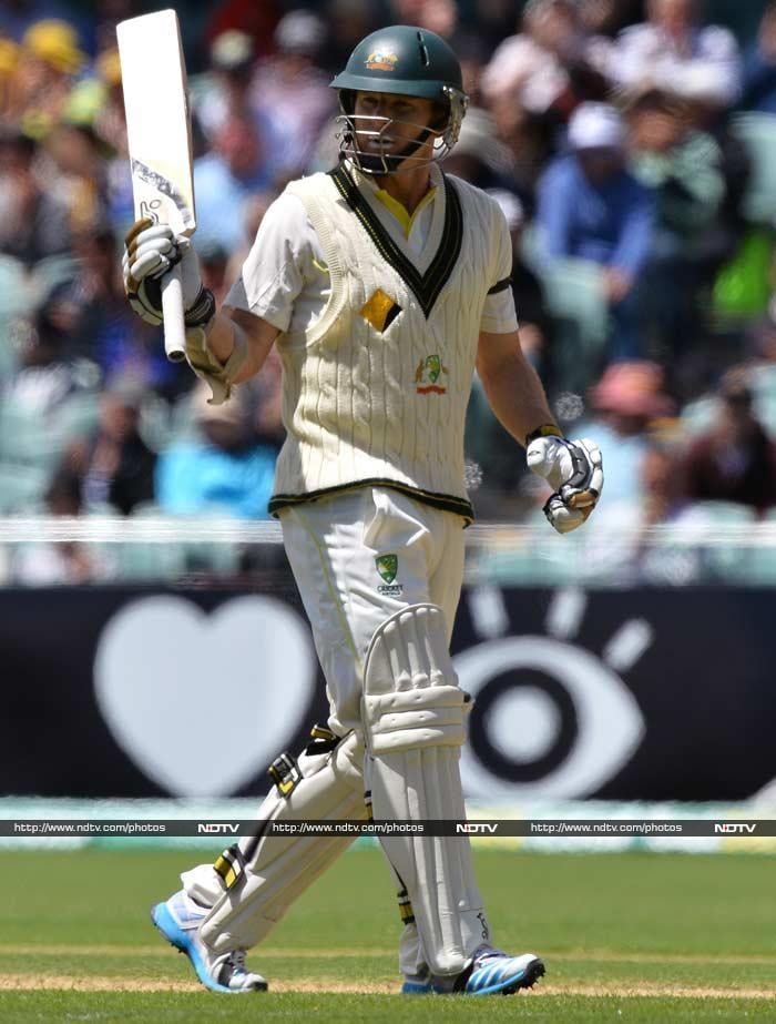 Ashes, 2nd Test: George Bailey slams maiden fifty as Australia deny England Day 1 honours
