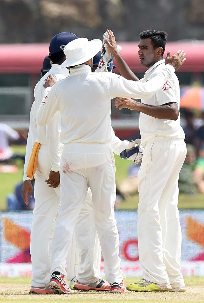 1st Test, Day 1: Ashwin