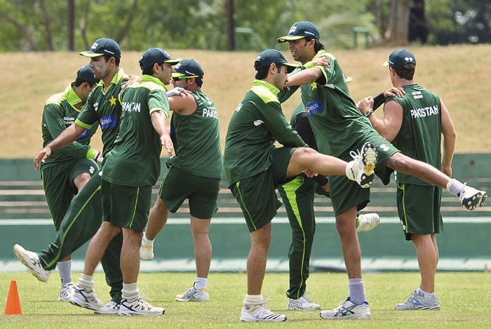 Pakistan warm up for Asia Cup