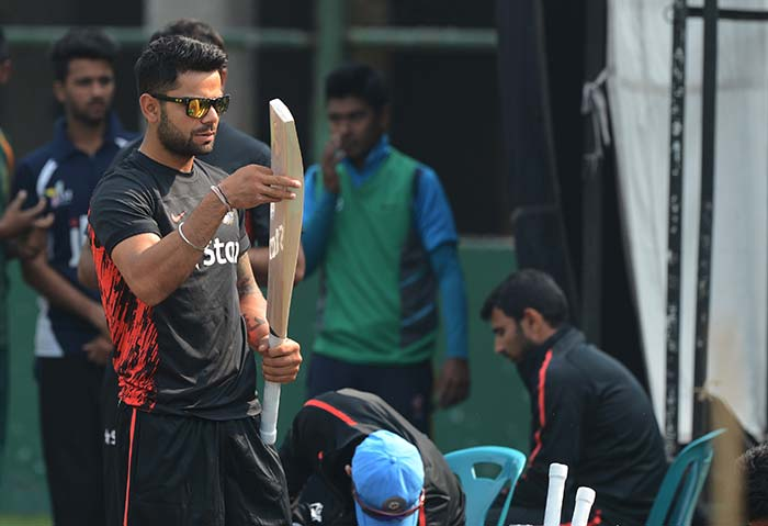Asia Cup: Virat Kohli-led India sweat it out in practice