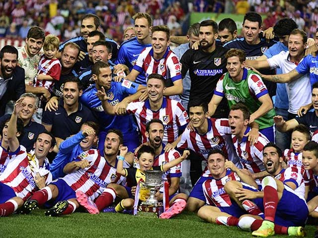 Photo : Mandzukic Hands Atletico Super Cup Win Over Real