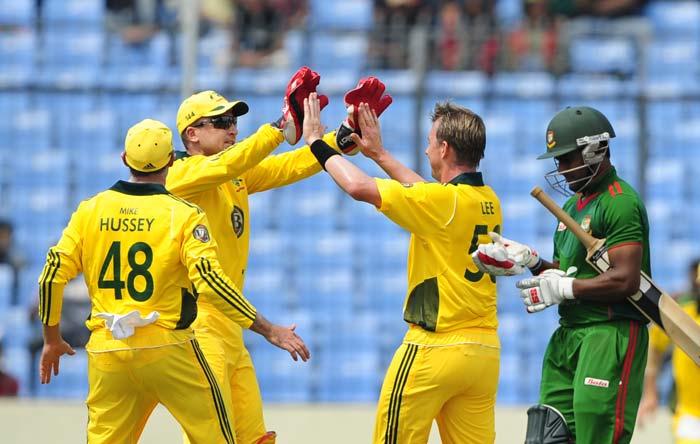 1st ODI: Australia vs Bangladesh