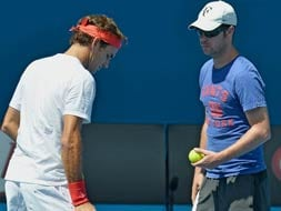 Photo : Tennis stars and their high-profile coaches