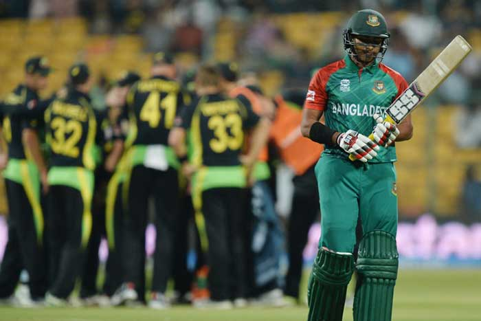 World T20: Australia Stutter To Nervous Three-Wicket Win Over Bangladesh